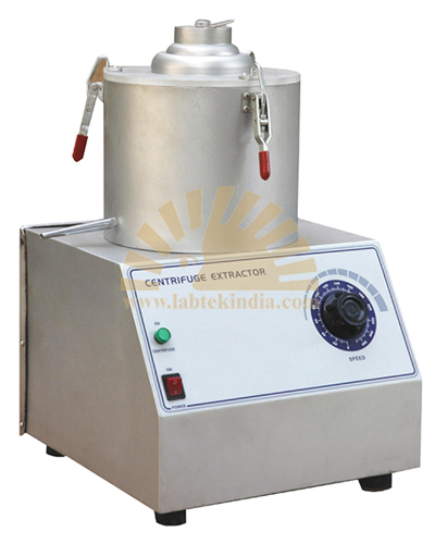 Centrifuge Extractor (Motorized)