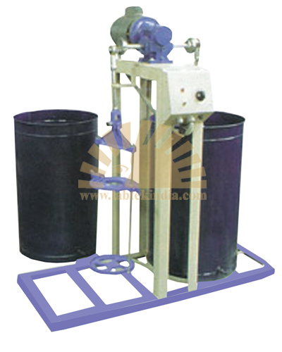 Wet Sieve Shaker Motorized