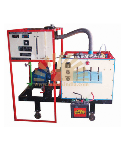 Four Stroke Four Cylinder Petrol Engine Test Rig with Morse Test