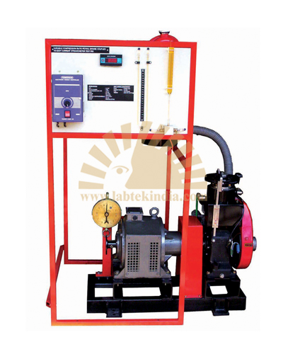 Variable Compression Ratio Petrol / Diesel Engine Test Rig