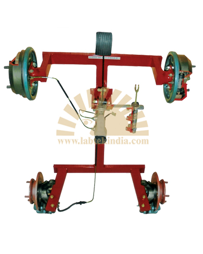 Hydraulic Brake Unit Four Wheel Type