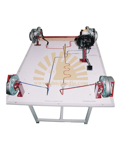 Hydraulic Braking System With Vacum Booster