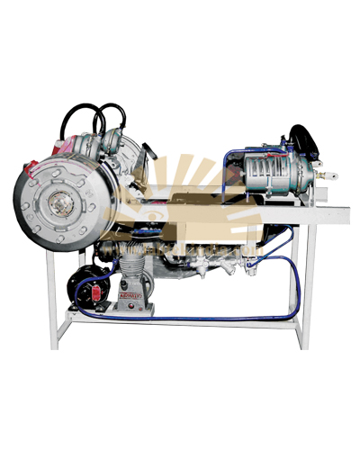 Model Of Air Brake System (Working)