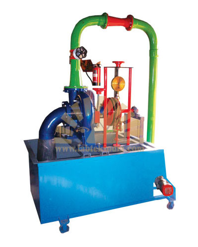 CLOSED CIRCUIT FRANCIS TURBINE TEST RIG 5HP