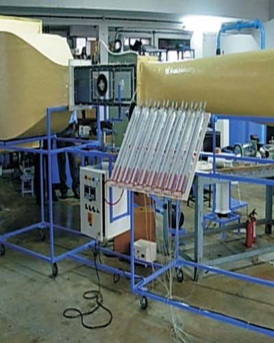 Wind Tunel Test Rig